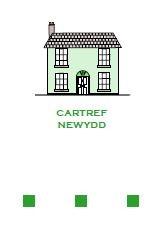 Cartref Newydd - Gwyrdd / New Home - Green