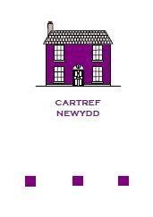 Cartref Newydd - Piws / New Home - Purple