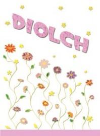 Diolch - Blodau / Thank you - Flowers