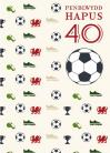 40 B - Pel-droed / 40 M - Football