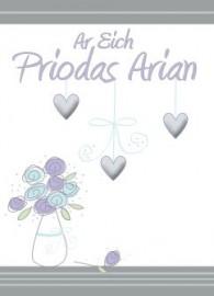 Penbl Priodas - Arian / Anniv - Silver